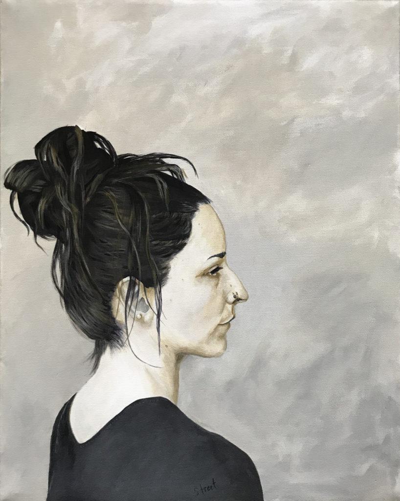 Portrait Painting of Liv