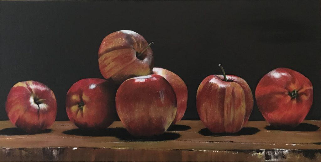 Still Life with Apples, Third Place FCA Arrowsmith Chapter Juried Show